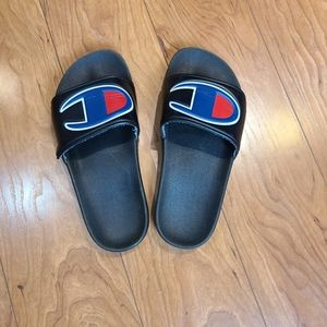 ⭐ Champion kid rubber sole  slides
